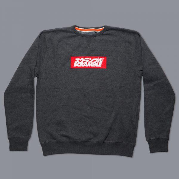 Box-Logo-Sweater-Black-Melange-5