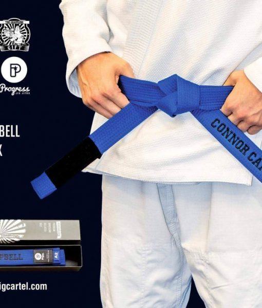 Custom BJJ Bluebelt