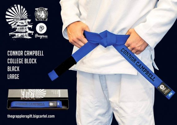 Custom BJJ Bluebelt